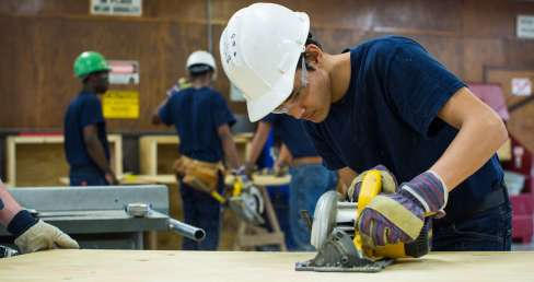 CARL D. PERKINS JOB CORPS CENTER through United Brotherhood of Carpenters and Joiners of America (UBCJA).